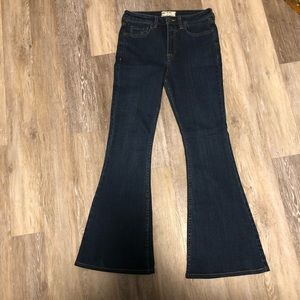 Free People high waisted flare jeans
